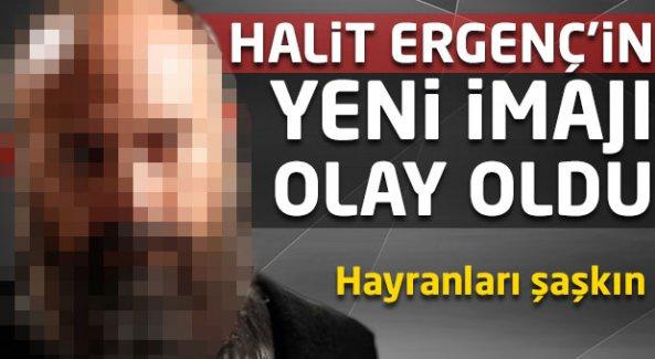Halit Ergenç'in yeni imajı olay oldu!