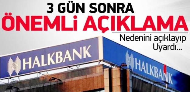 Halk Bankası'ndan Twitter'da operasyon açıklaması!