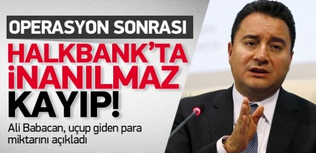 Halk Bankası'nın değer kaybını açıkladı...