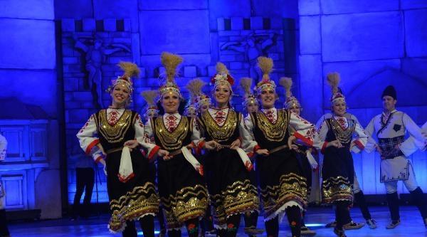 Halk Dansları Yarışmasında 'altın Karagöz' Bulgaristan'a Gitti
