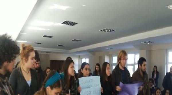 Halkbank İnsan Kaynakları Müdürü'ne Yumurtalı Protesto