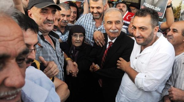 Hanefi Avcı'ya Gaziantep'te Coşkulu Karşılama