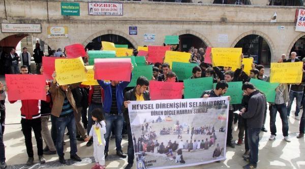 Harran Üniversitesi Öğrencilerinden Diyarbakırlı Öğrencilere Destek