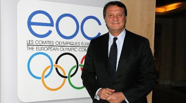 Hasan Arat, Avrupa Olimpiyat Komiteleri Birliği Yönetim Kurulu Üyeliğine Seçildi (Fotoğraflar)