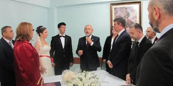 Hasdal Cezaevindeki Nikah Töreninden Ilk Kareler