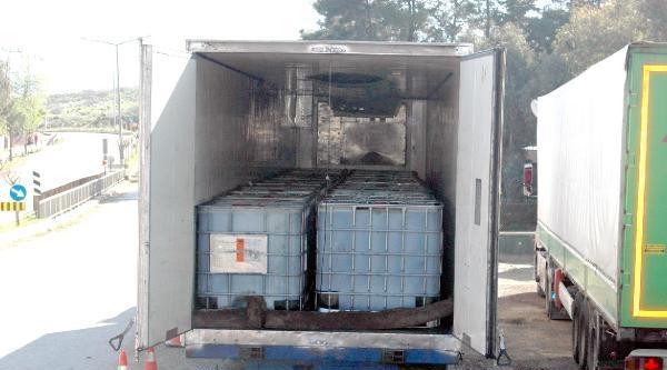 Hassa'da 35 Ton Kaçak Mazot Ele Geçirildi
