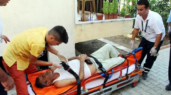 Hastaya, Balkona Tırmanarak Ulaştılar