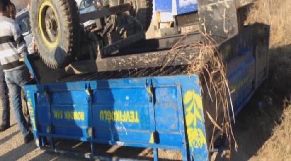 Hatay'da 'asker, Zirhli Araçla Traktörü Kanala Atti' Iddiasi