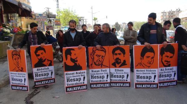 Hatay'da Başbakan'ı Protesto Etmek İsteyen 4 Kişi Gözaltına Alındı