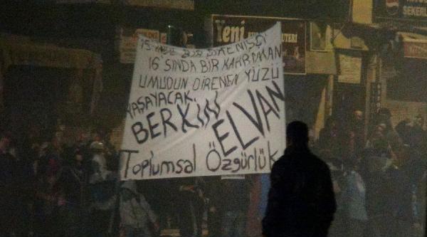 Hatay'da Berkin Elvan Eylemi