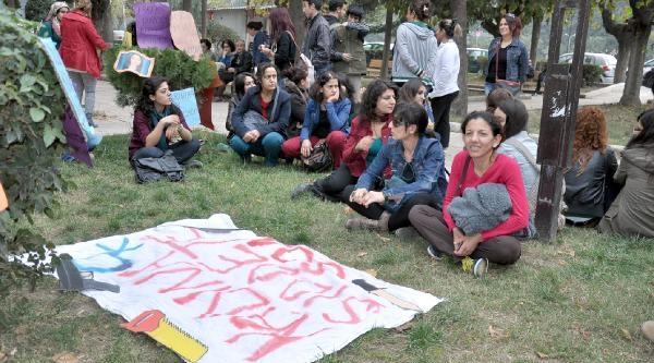 Hatay'da Kadina Şiddet Protestosu