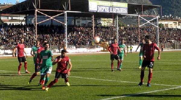 Hatayspor-Kartalspor: 1-0
