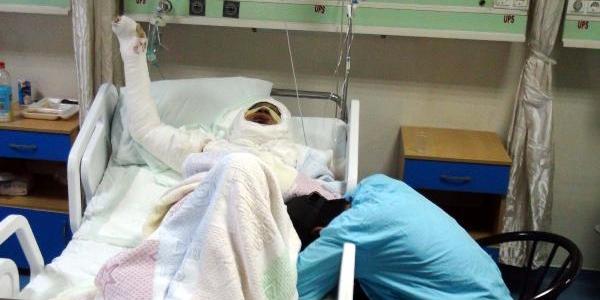 Hava Saldirisinda Yaralanan Suriyeli, Gaziantep'te Öldü