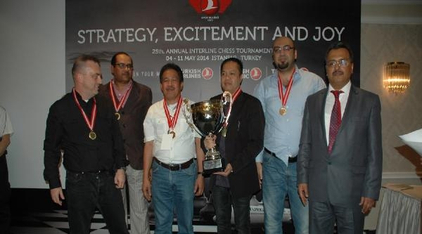 Havayolları Satranç Turnuvası Ödülleri Dağıtıldı