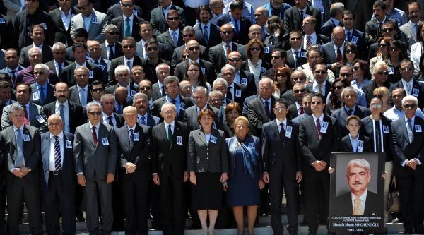Hayatını Kaybeden Tbmm Eski Başkanvekili Sökmenoğlu İçin Tören Düzenlendi / Ek Fotoğraflar