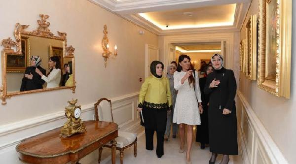 Hayrünnisa Gül, Mehriban Aliyeva'yi Çankaya Köşkü'nde Ağirladi