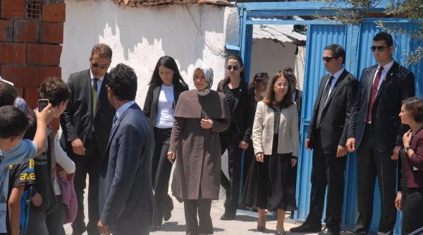 Hayrünnisa Gül, Soma'da Taziye Ziyaretinde