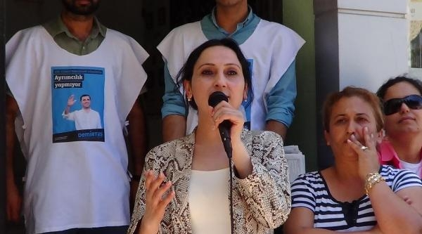Hdp Eş Genel Başkanı Yüksekdağ, Bodrum'da (2)