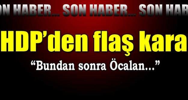 HDP heyetinden flaş açıklama