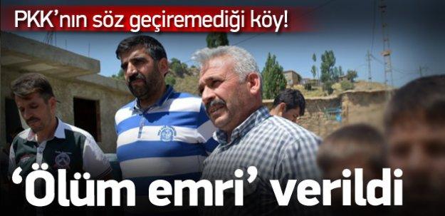 HDP'ye oy çıkmayan köye PKK'dan tehdit!