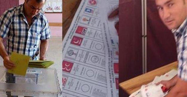 HDP'ye toplu oy veren şahıs kaçtı