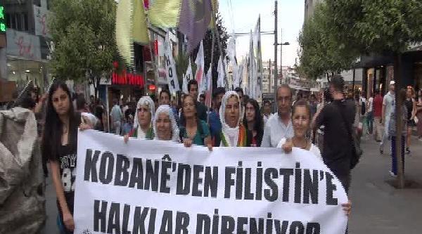 Hdp'den Filistinlilere Destek Yürüyüşü