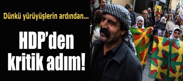 HDP'den hükümete flaş çağrı!