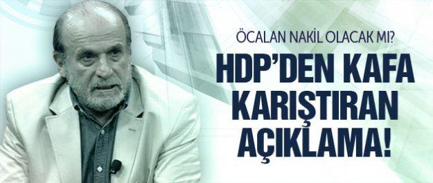 HDP'den Öcalan'a nakil iddiasına yanıt!