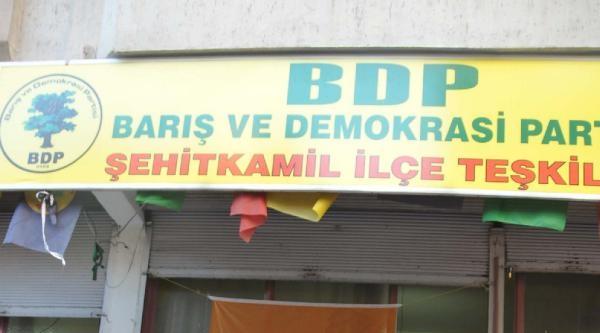 Hdp'den Saldırı Protestosu