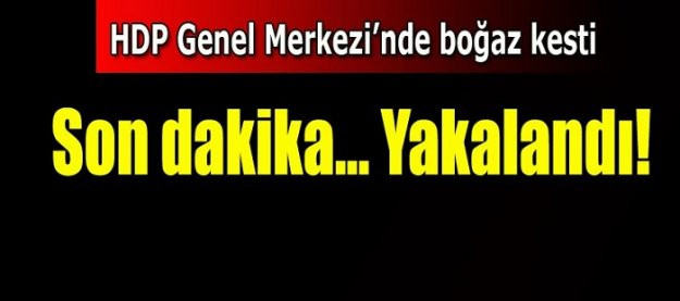 HDP'li üyeye bıçaklı saldırı!
