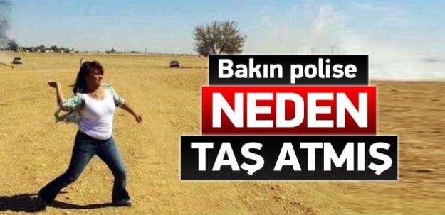 HDP'li vekil polise neden taş attığını açıkladı