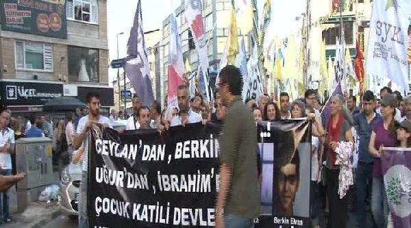 Hdp'lilerden Adana'daki Olaylarda Ölen İbrahim Aras İçin Yürüyüş