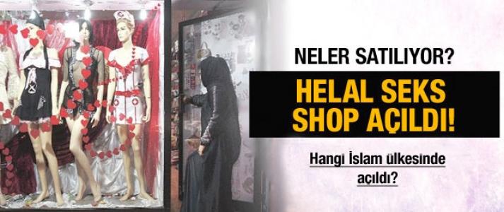 Helal Seks Shop'da neler satılıyor?