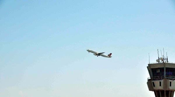 Helikopter Frekansı Meşgul Etti, Thy Uçağı Pas Geçti