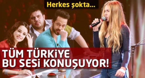 Herkes şokta! Tüm Türkiye bu sesi konuşuyor!