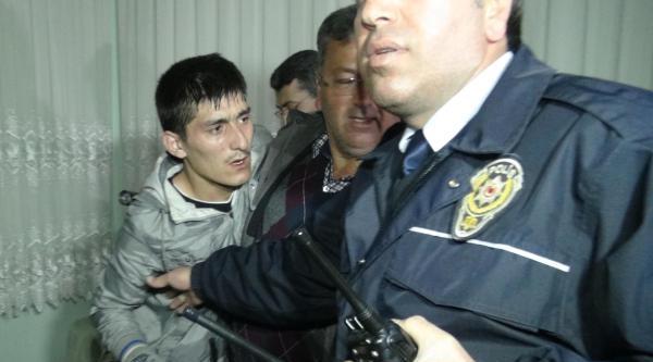 Hırsızlık Şüphelisi Kendisini Kilitlediği Salonda Suçüstü Yakalandı