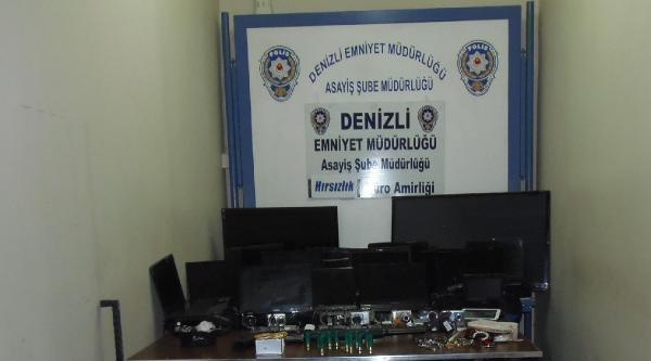 Hırsızlık Şüphelisinin Evi Elektronik Eşya Mağazası Gibi