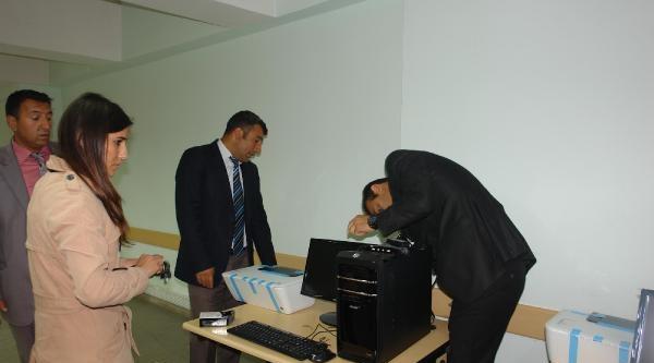 Holdingden Çukurca'ya Bilgisayar Yardımı