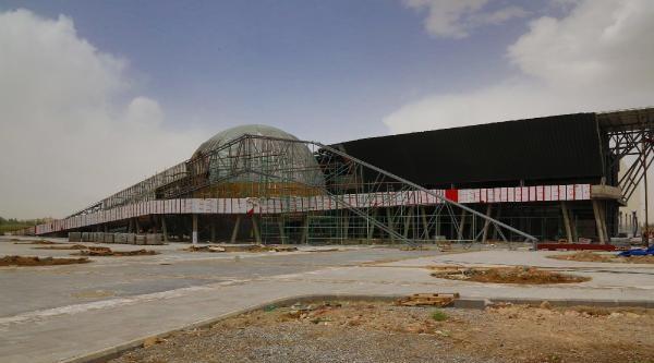 Hollanda Heyeti Tübitak Bilim Merkezi İnşaatini İnceledi
