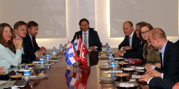 Hollanda'nin Ankara Büyükelçisi Gaziantep'te