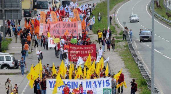 Hopa'da 1 Mayıs Kutlaması