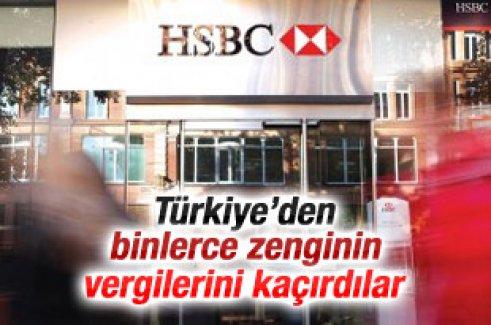 HSBC zengin müşterilerin vergilerini kaçırdı