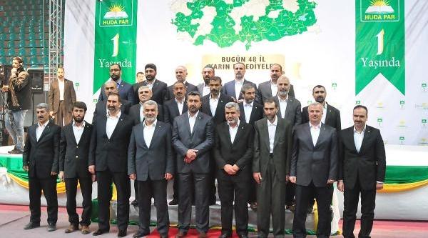 Hüda Par, Kuruluş Yildönümünde Belediye Başkan Adaylarini Açikladi