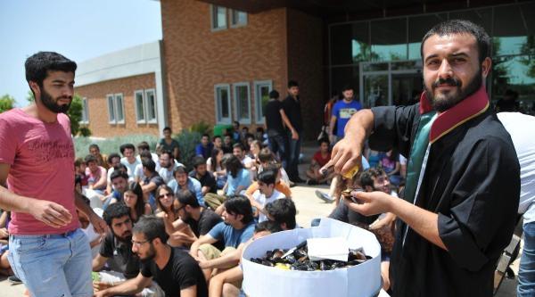 Hukuk Öğrencilerinden Midyeli Eylem
