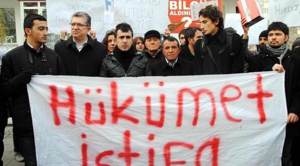 Hükümeti Protestoya, Çevreyi Kirlettiniz Cezasi