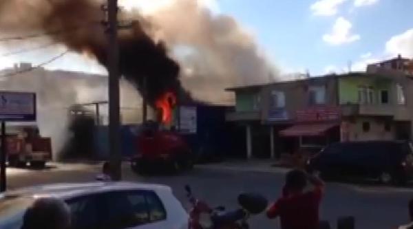Hurdacıda Yangın Çikti: 1 Ölü, 1 Yaralı