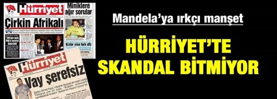 Hürriyet'in Mandela manşetine Twitter'da tepki yağdı...