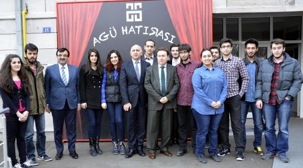 Huyundai Türkiye Yönetim Kurulu Başkanı Ali Kibar, Agü Öğrencileriyle Buluştu