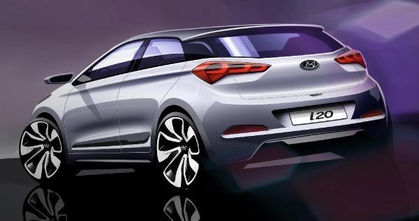 Hyundai'nin Yeni İ20'nin Tasarımı Ortaya Çikti