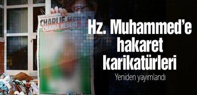 Hz Muhammed'e hakaret karikatürleri yeniden yayımlandı!